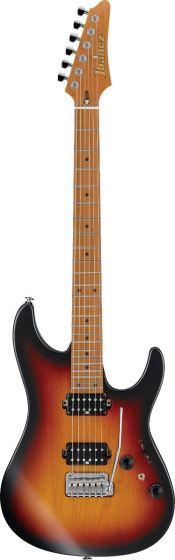 Ibanez AZ2402 Prestige Tri Fade Burst Flat AZ TFF Electric Guitar w/Case