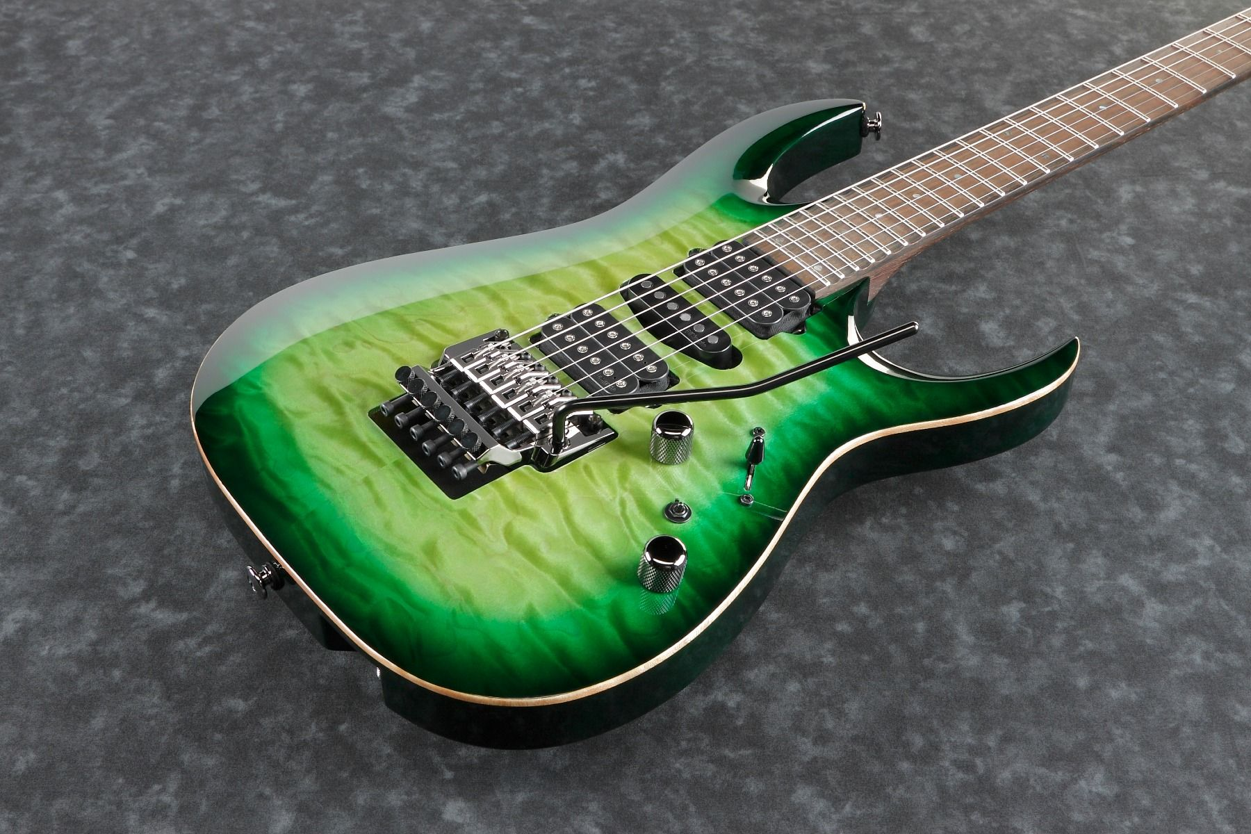 ibanez kiko loureiro signature w case green mist burst kiko200gmt electric guitar 6. Black Bedroom Furniture Sets. Home Design Ideas
