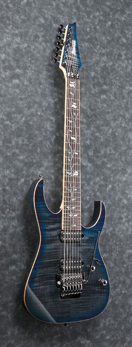 ibanez rg 7 string w case sodalite rg8527z sde electric guitar 6. Black Bedroom Furniture Sets. Home Design Ideas