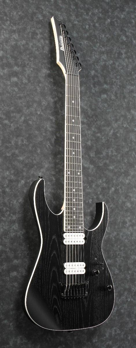 ibanez rg prestige rgr752ahbf wk 7 string weathered black electric guitar w case 6. Black Bedroom Furniture Sets. Home Design Ideas