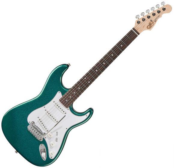 G&L Legacy USA Fullerton Standard Electric Guitar in Emerald Blue