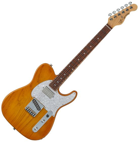 G&L ASAT Classic Bluesboy USA Fullerton Deluxe in Honey Burst