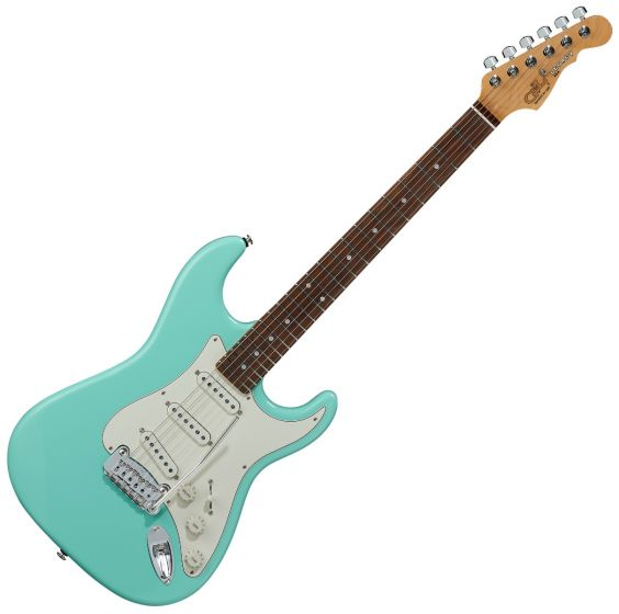 G&L Legacy USA Fullerton Deluxe in Surf Green