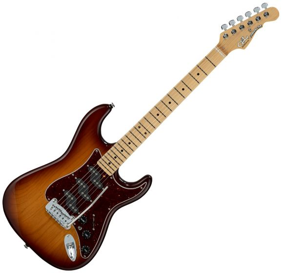 G&L Comanche USA Fullerton Deluxe in Old School Tobacco Sunburst