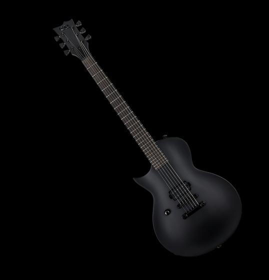 ESP LTD EC-Black Metal Electric Guitar Black Satin Left Handed