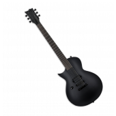ESP LTD EC-Black Metal Electric Guitar Black Satin Left Handed LECBKMBLKSLH