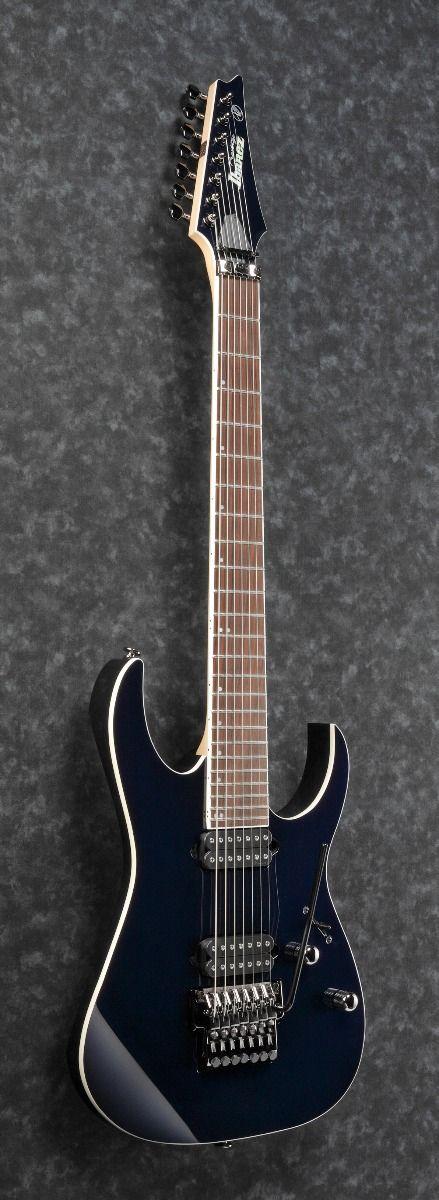 ibanez rg2027xl dtb rg prestige 7 string 27 scale dark tide blue electric guitar w case 6. Black Bedroom Furniture Sets. Home Design Ideas