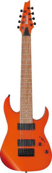 Ibanez RG80E ROM RG Standard 8 String Roadster Orange Metallic Electric Guitar