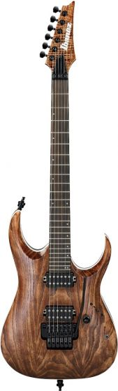 Ibanez RGA60AL ABL RGA Axion Label 6 String Antique Brown Stained Low Gloss Electric Guitar