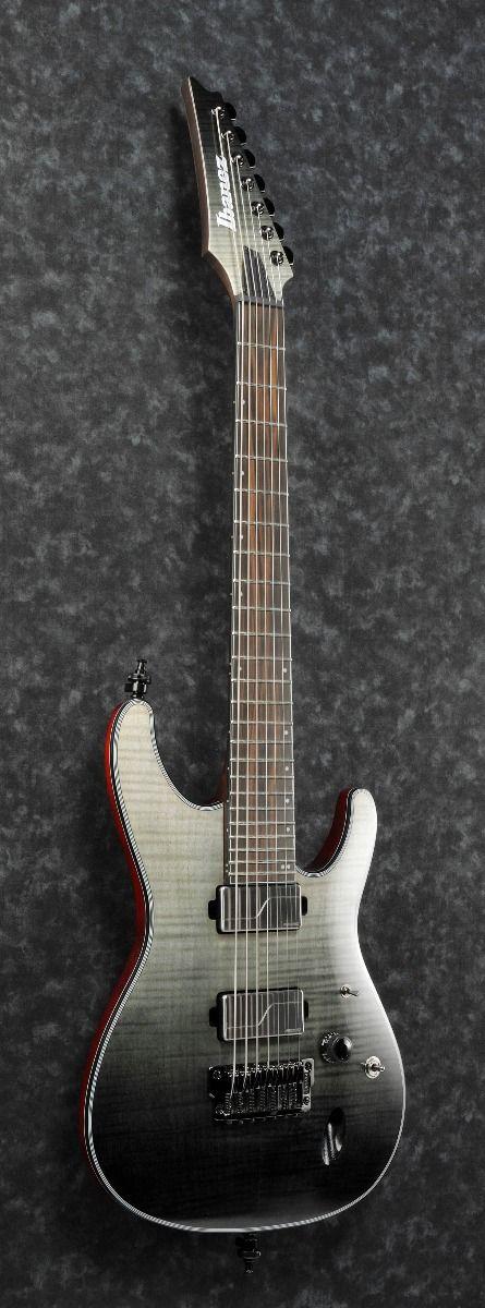 ibanez s71al bml s axion label 7 string black mirage gradation low gloss electric guitar 6. Black Bedroom Furniture Sets. Home Design Ideas