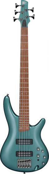 Ibanez SR Standard SR305E 5 String Metallic Sage Green Bass Guitar