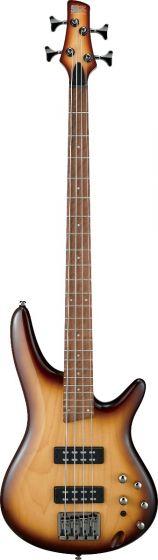 Ibanez SR Standard SR370E 4 String Natural Browned Burst Bass Guitar