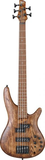 Ibanez SR Standard SR655E 5 String Antique Brown Stained Bass Guitar