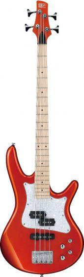 "Ibanez SR Mezzo SRMD200 4 String 32"" Medium Scale Roadster Orange Metallic Bass Guitar"