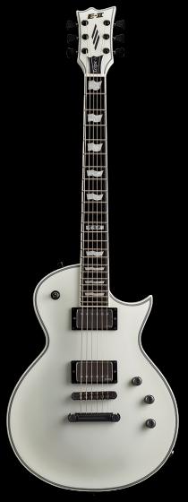 ESP E-II Eclipse Snow White Satin Electric Guitar w/Case