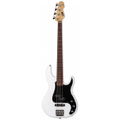 ESP LTD AP-204 Snow White 4 String Bass Guitar LAP204SW