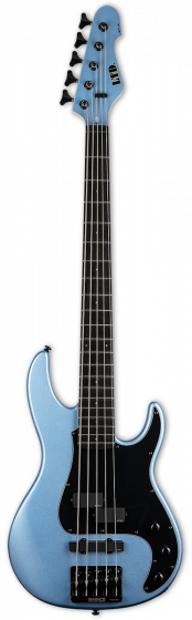 ESP LTD AP-5 Pelham Blue 5 String Bass Guitar