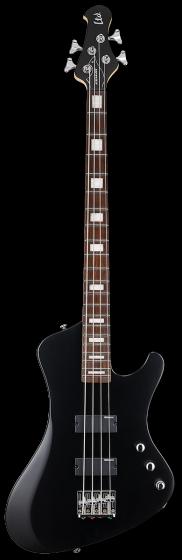 ESP LTD STREAM-204 Black Satin Bass Guitar