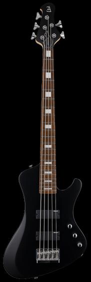 ESP LTD STREAM-205 Black Satin 5 String Bass Guitar