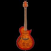 ESP LTD TL-6 Thinline Tiger Eye Burst Electric Guitar LTL6QMTEB