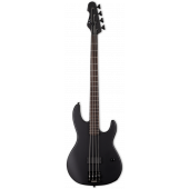 ESP LTD AP-4 Black Metal 4 String Black Satin Bass Guitar LAP4BKMBLKS