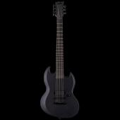 ESP LTD VIPER-7 Baritone Black Metal Black Satin Electric Guitar LVIPER7BBKMBLKS