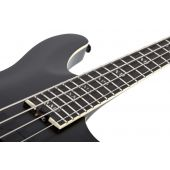 Schecter SLS ELITE-4 Evil Twin Electric Bass in Satin Black