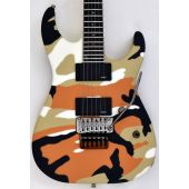 ESP E-II M-II Neck Thru Body Electric Guitar in Desert Camo EIIMIINTDC