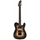 ESP LTD TE-1000 Evertune Black Natural Burst Electric Guitar LTE1000ETFMBLKNB