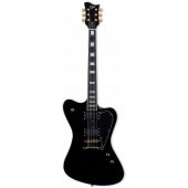 ESP LTD SPARROWHAWK Bill Kelliher Mastodon Black Electric Guitar w/Case LSPARROWHAWKBLK
