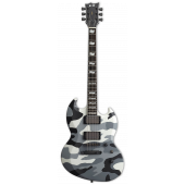 ESP E-II Viper Urban Camo Electric Guitar w/Case EIIVIPERUC