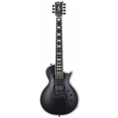 ESP E-II Eclipse-7 Evertune Black Satin Electric Guitar w/Case EIIEC7ETBLKS