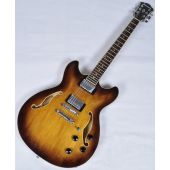 Ibanez Artcore AS73 Semi-Hollow Electric Guitar in Tobacco Brown AS73TBC
