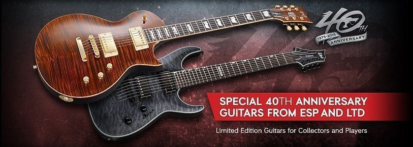 ESP Guitars 40th Anniversary
